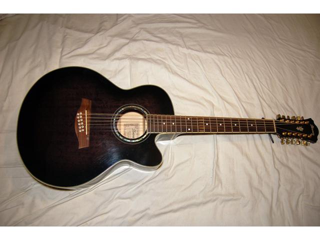 guitare lectro acoustique 12 cordes ibanez ael2012e. Black Bedroom Furniture Sets. Home Design Ideas