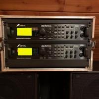 Fractal AXE FX II XL + baffles + footcontroller + expression pedals