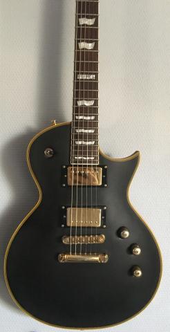 ESP LTD EC-1000 Duncan Vintage Black