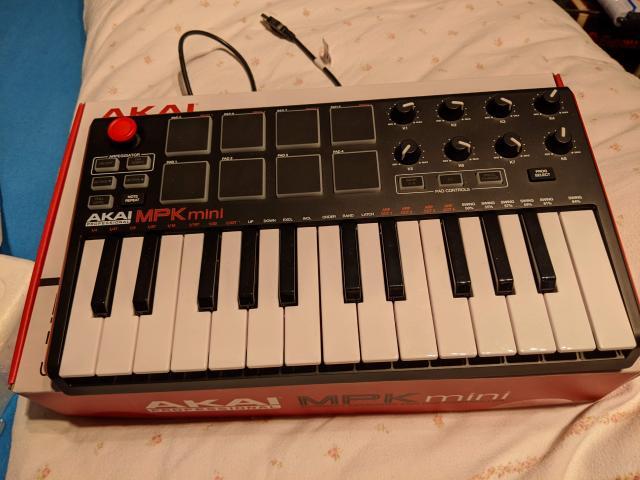 Midi-Keyboard MPK-mini professional