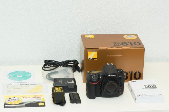 Appareil photo Nikon D810 en bon état à vendre
