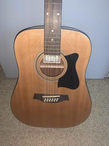 Ibanez 12 String Model V7212e-nt