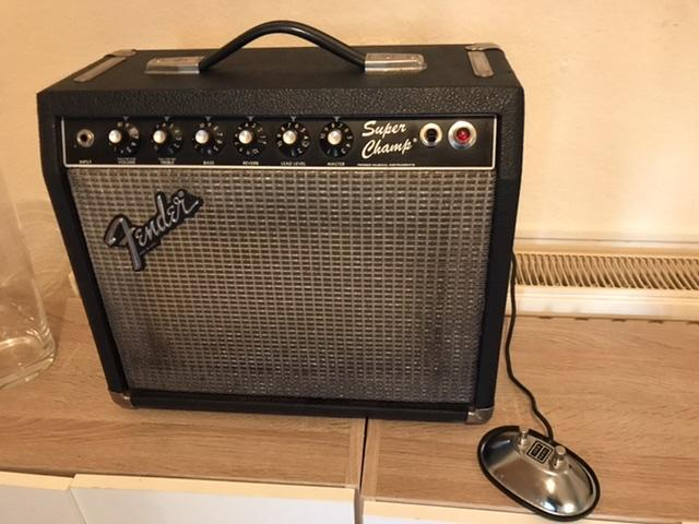 Fender Super Champ rivera 1982
