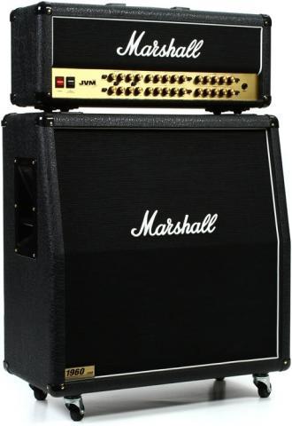 Marshall JVM410H + Cab 1960AV