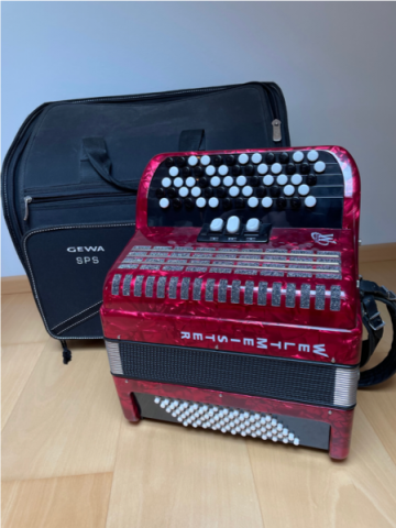 ACCORDEON WELTMEISTER (PETITE TAILLE/TAILLE ENFANT))