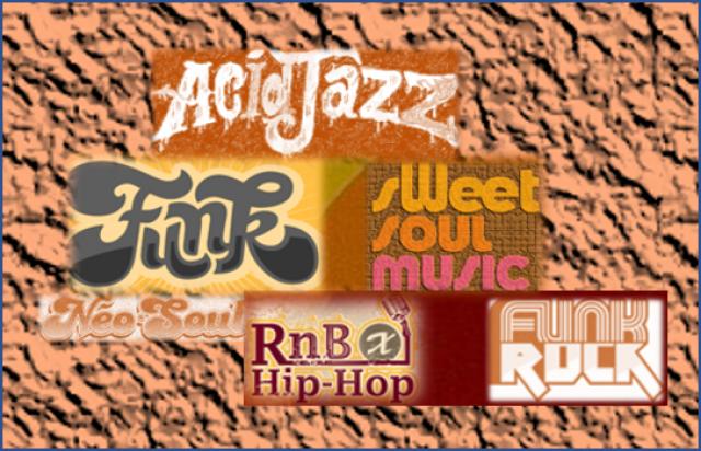 SOUL / RnB / HIPHOP / RAP / FUNK / FUNK-ROCK / ACID JAZZ ......